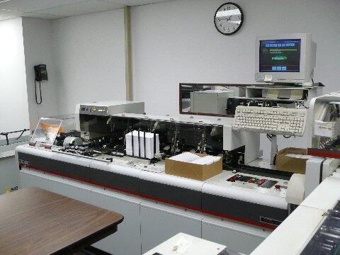 Bell Howell Mailstar 400 Inserter Capital Mailing Equipment