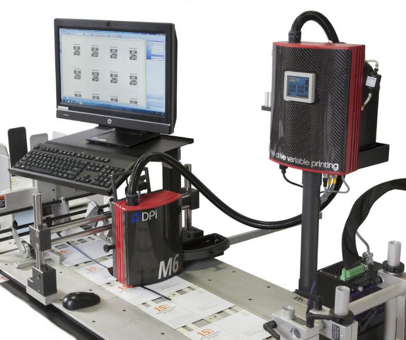 HAWK M6 4 25 Inch head Inkjet Address Printer